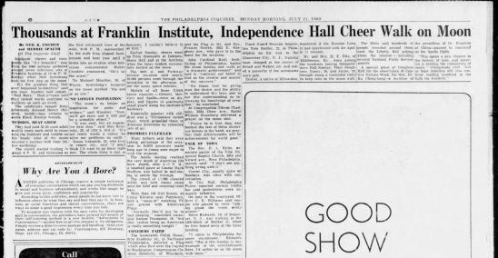 The philadelphia inquirer mon  jul 21  1969